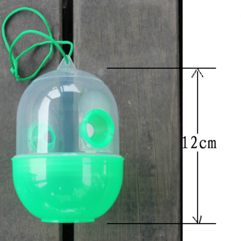 5pcs/lot Pest Repeller Bee Trapper Insect Killer Pest Reject Flies Bugs Hornet Trap Catcher Hanging On Tree Keeping Tools