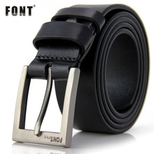 Men's Luxury High Quality Genuine Leather Belt