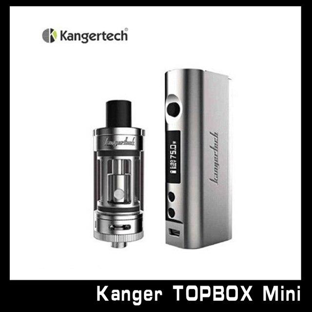 KangerTech Electronic Cigarette Topbox Mini Starter Kit with 4ML Mini Tank and Kbox Mini Tc 75W Mod Hot sale