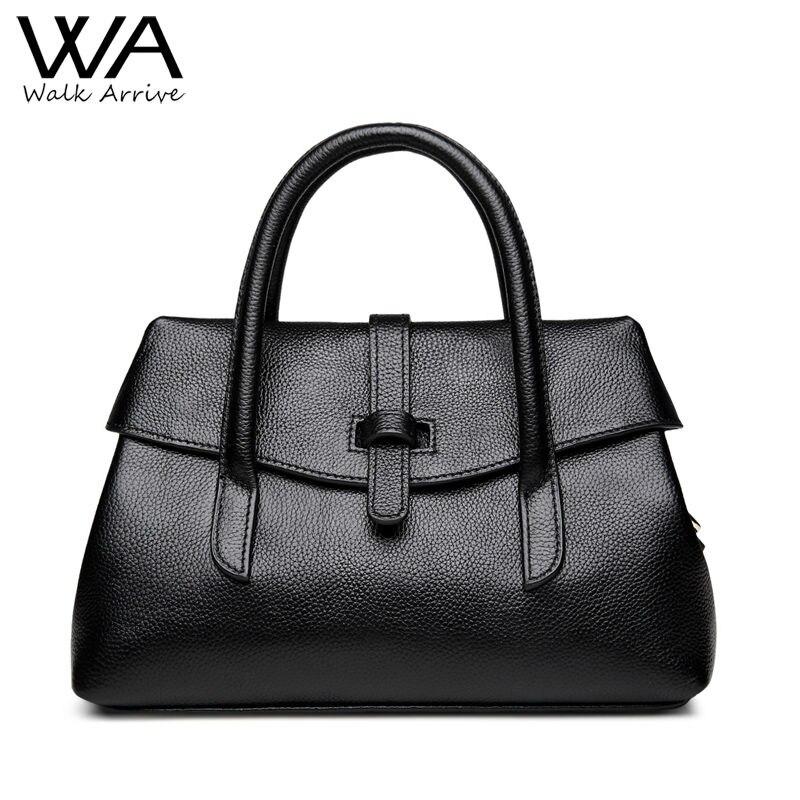 Walk Arrive Genuine Leather Handbag Women Shoulder Bag Brand Design Real Leather