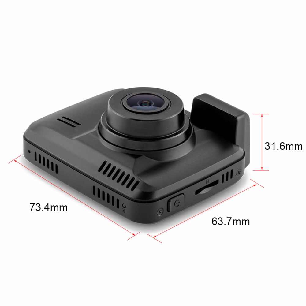 "2.4 ""GS63H GPS Wifi caméra tableau de bord 4 K 1080 P FULL HD voiture Dvr enregistreur g-sensor détection de mouvement Parking surveillance voiture Dashcam Dvr"