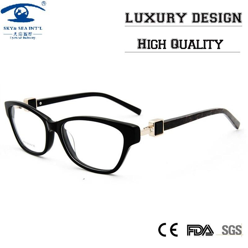 high quality custom butterfly eyeglass frames with rhinestones clear lens women optical lens eyewear frames rx