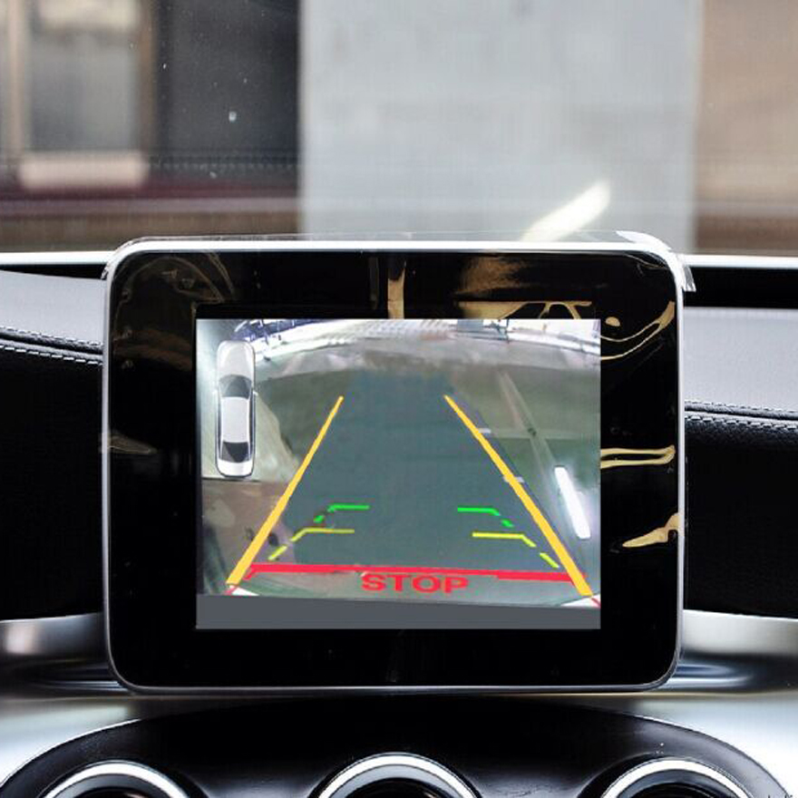 Video Interface CLS W218 Front Camera Reverse Camera Singal Input For Factory Screen