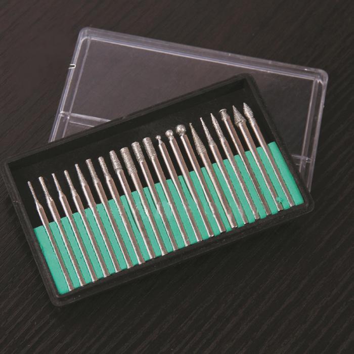 Grinding Cutting 20/30pc 3mm Head Drill Bits