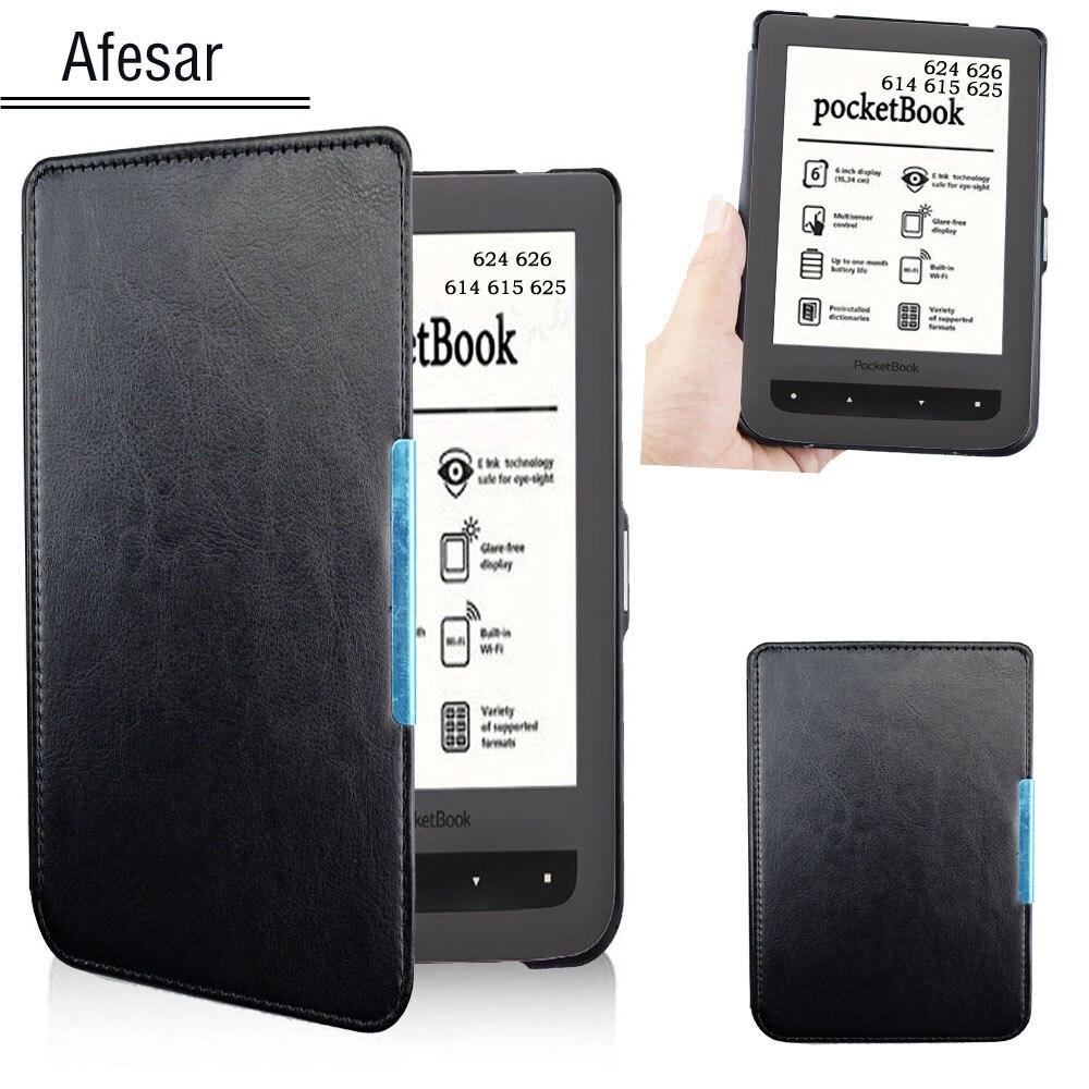 Für PocketBook 624 626 Fall Abdeckung Grundlegende touch Lux 2 eReader tasche ledertasche fall auch Fit Modell 614 615 625 pocketBook abdeckung