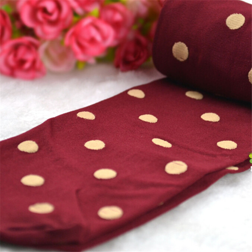 7d1399558b8 Woman Tights Retro Dot Women Shape Lolita Stockings Varicose Veins  Underwear High Quality Girls Rompers Velvet Pantyhose W095-in Tights from  Underwear ...