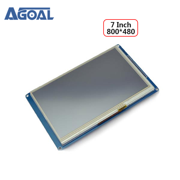 7 Inch 800 x 480 TFT Touch LCD Display Module MCU Bus CPLD SDRAM 800 480