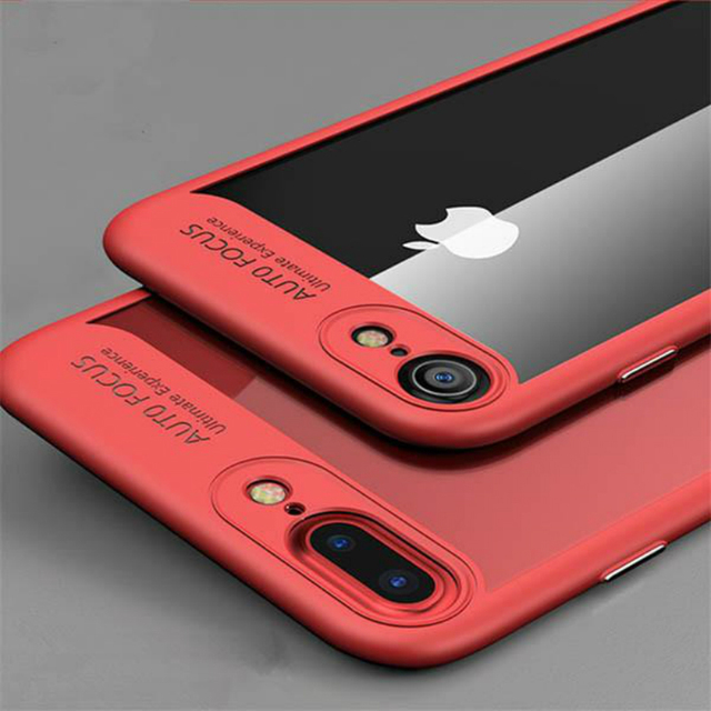 separation shoes 80899 d6b4d US $3.99  Transparent Acrylic TPU Case For iPhone 7 Plus Full Protective  Ultra Thin Back Cover For iPhone 6s Plus 6 Plus Luxury Case-in Fitted Cases  ...
