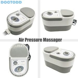 Image 5 - Air Wave Druk Massager Continue Compressie Circulatiepomp Been Arm Taille Been Massageing Machine Spieren Ontspannen Herstel Devic