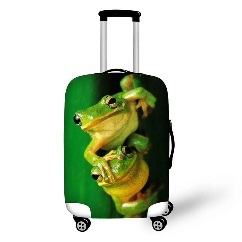 cubierta para la maleta de moda rana lindo maleta equipaje protege - Accesorios de viaje