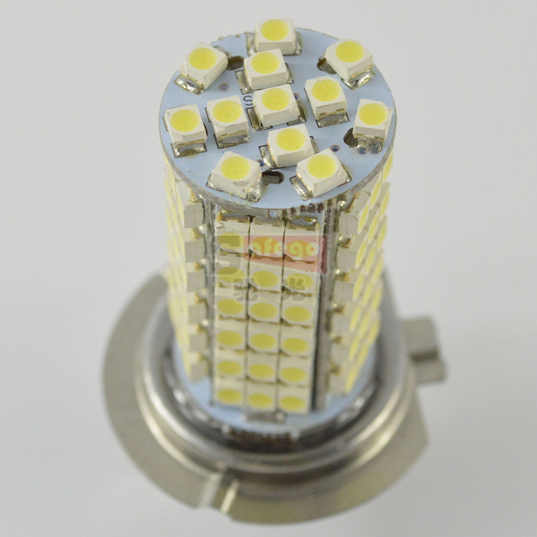 1X H7 Fog lamps 102 LED 3528 SMD 12V H7 Base Xenon White for Car auto h7 Fog Driving Head Light Lamp