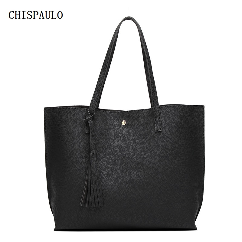 CHISPAULO 2017 Luxury Brand Women Shoulder Bag Soft Leather Top Handle Bags Ladi