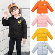ARLONEET warm coat for autumn and winter Baby Girl Boy Winter Cartoon Coat Cloak Jacket Thick Warm Outerwear Clothes JXM L0921(China)