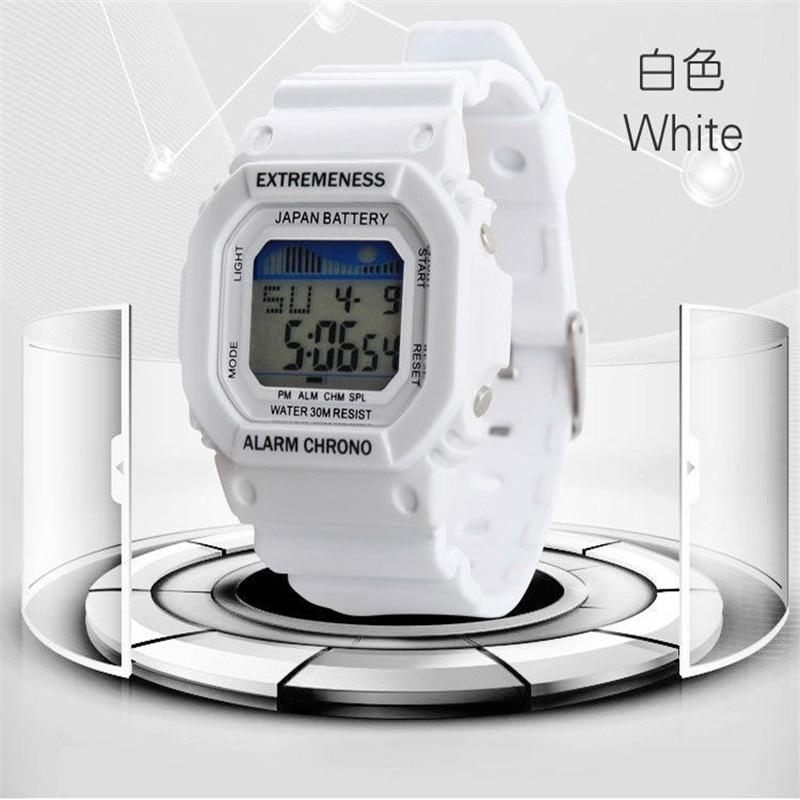 Women Sports Watch Digital Waterproof Military Watches Student Girl Fashion Alarm Multifunctional Wristwatches Hours New Clock