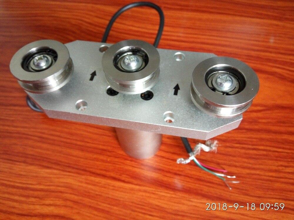 Tension capteur trois poulie roue force de Tension capteur fil de mesure fil 10N-500N 1.5 mV/V 0 ~ 5 V 1 ~ 5 v 4-20mA 0-10mA