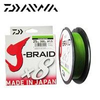 Free Shipping Daiwa J BRAID 8A 150M 100 Original Multicolor 8 Wire Braid Line Monofilament 10