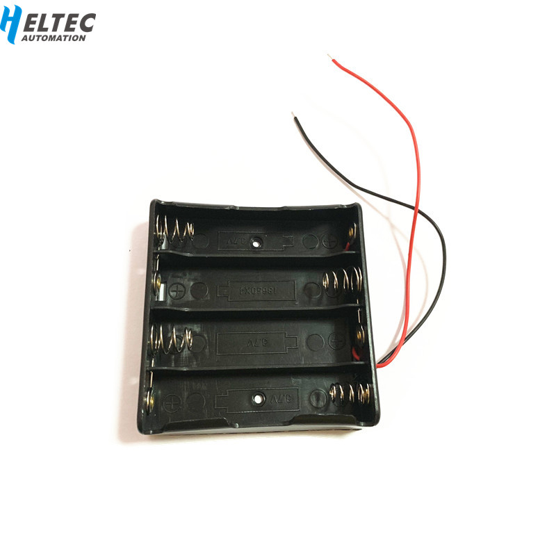 4S /4 Slots Plastic Battery Holder Storage Box Case For 4x 18650 Rechargeable Battery In Series