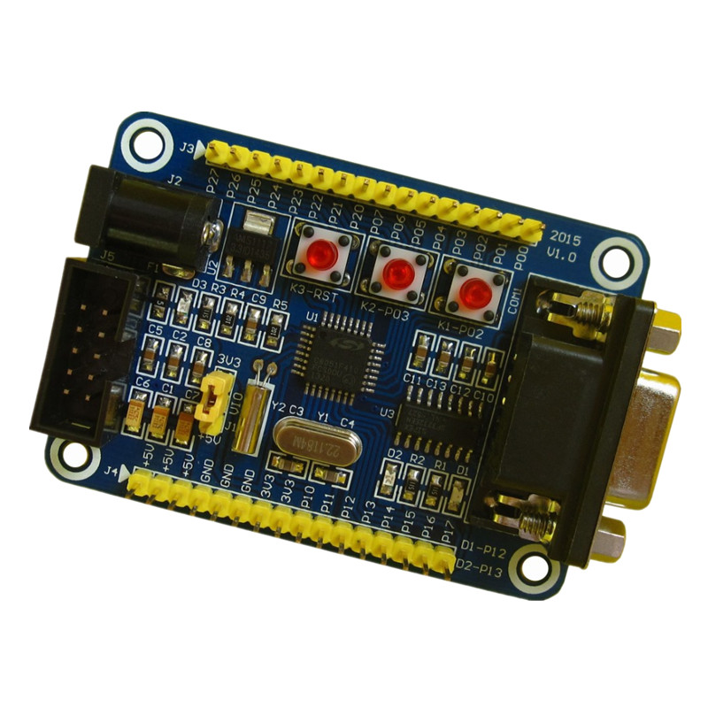 Купить C8051F410 Learning Board Development Board Core Board Experimental Board C8051F410 Minimum System