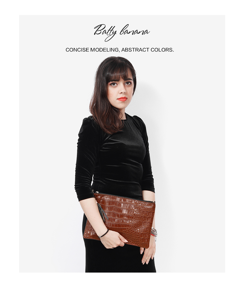 c9cdd5143da7d0 BATTY BANANA Fashion Day Clutches Crossbody Bags Tassel Clutch Bag ...