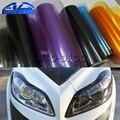 30*200 см Глянцевый светильник, пленочный лист, 13 цветов, автомобильный головной светильник задняя фара туман светильник, противотуманная вин...