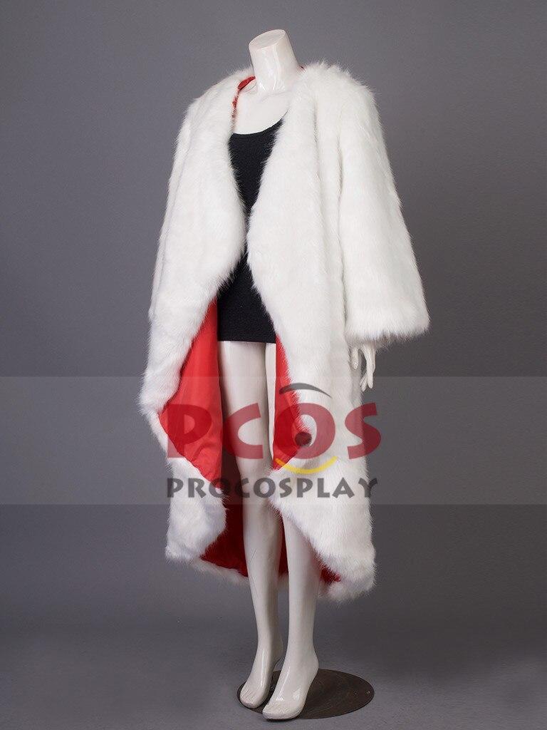 Beste 101 Dalmatiner Cruella De Vil Cosplay Kostum Nur Lange Mantel
