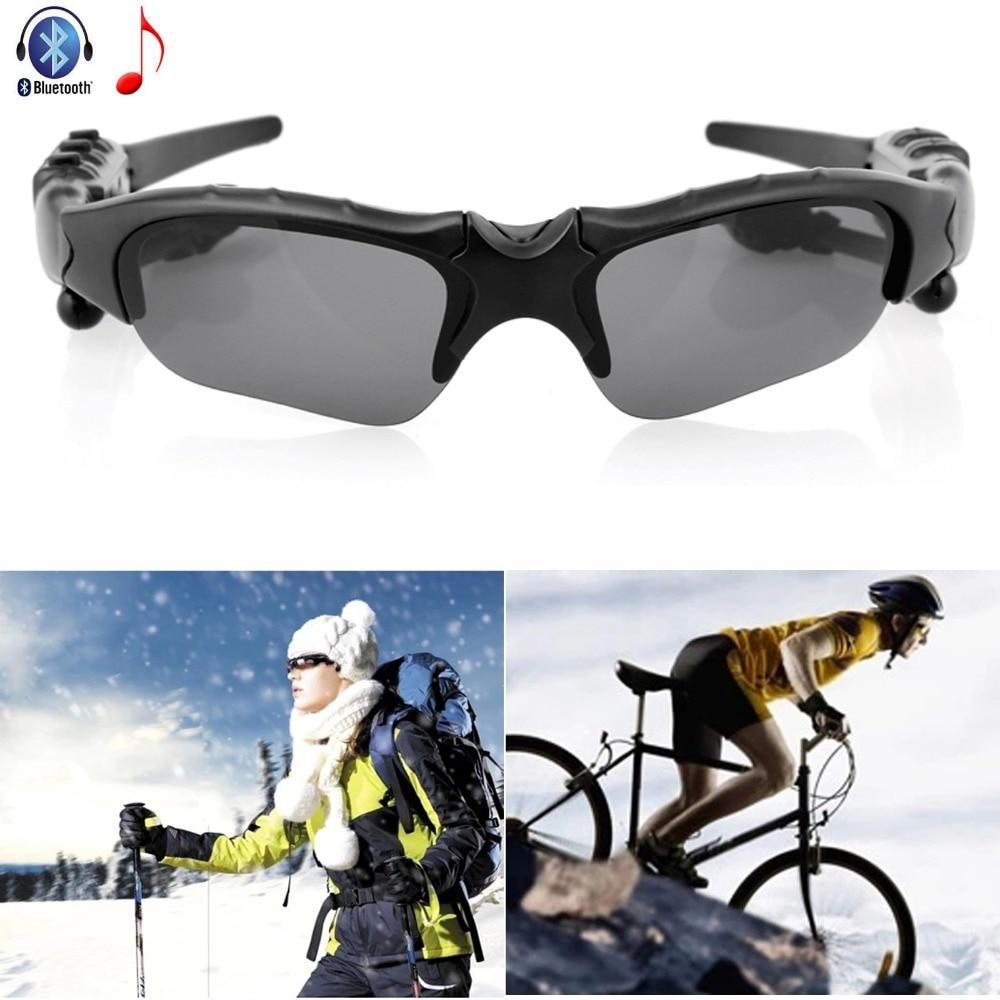 Wireless Headphone Bluetooth Sunglasses Headset Stereo Cycling Driving Earphone For iPhone Samsung Motorola Lenovo LG HTC Tablet