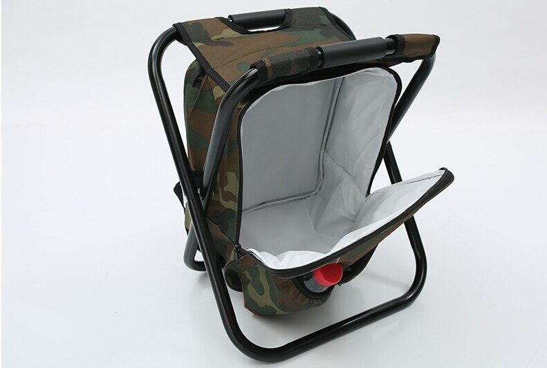 Sedia di pesca allaperto multifunzionale portatile borsa termica