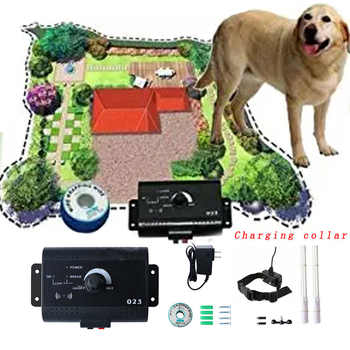 023 Safety In-ground Pet Dog Electric Fence With Chargable Dog Electronic Training Collar Buried Electric Dog Fence System - Category 🛒 All Category