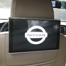 11.8 Inch Car Television Auto TV Monitor Bluetooth Music Headrest DVD Screen For Nissan Android Rear Seat Entertainment System