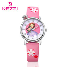 KEZZI Children Watch Fashion Watches Quartz Wristwatches Waterproof Kids Clock boys girls Students Wristwatch
