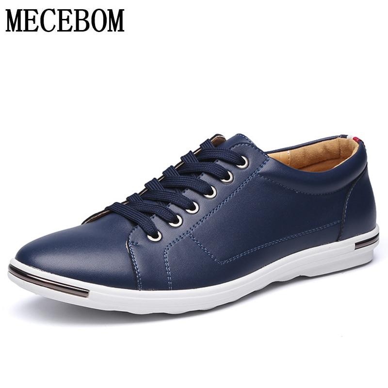 4b78935943 Sapatos de Couro de lazer dos homens Tamanho Grande 48 Dividir Sapatos de  Couro para o