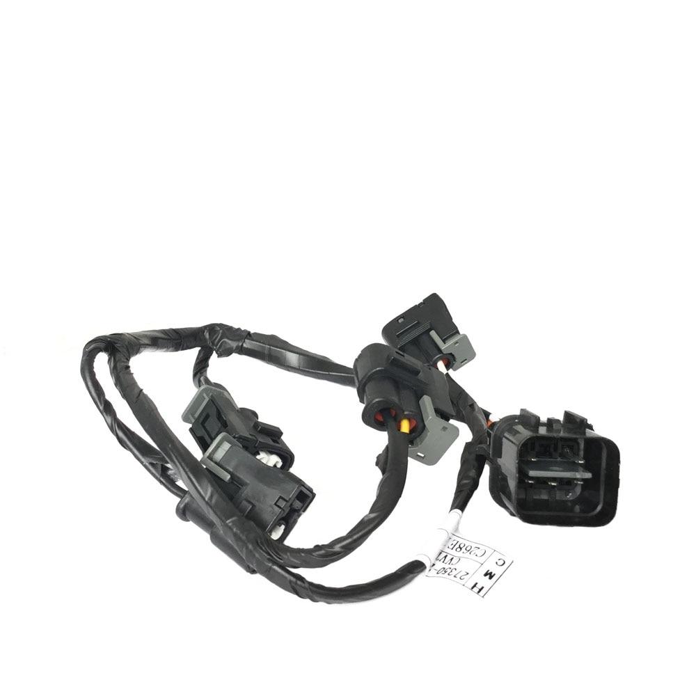 new oem 27350 26620 genuine ignition coil wire harness for hyundai accent 1 6 l4 kia rio rio5 2006 2011 2735026620 [ 1000 x 1000 Pixel ]
