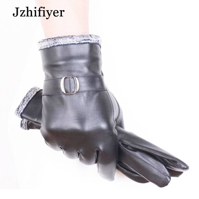 Jzhifiyer Gr 209 Factory S Uni Sheep Genuine Leather Warm Water Proof Five