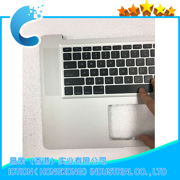 Genuine A1286 Topcase With Keyboard For Apple Macbook Pro 15'' A1286 Top case With US Keyboard 2011 2012 аккумулятор для ноутбука apple macbook pro 15 a1286 2011 2012 series 10 95v 5400mah 59wh