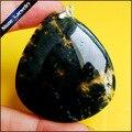 Rebanada de la Ágata de Musgo verde de Piedra Natural de Cuarzo Colgante de Collar de la Declaración Mujeres Fantaisie Collier DS693 Sieraden Para La Fabricación de Joyas