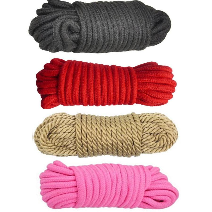 Soft Cotton Rope BDSM Bondage Shibari Restraints 5M Rope