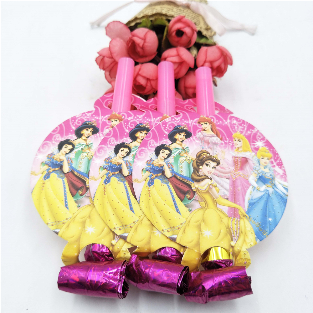 74pcs Disney Princess Happy Birthday Party Decoration Birthday Party Decoration Set Babyfavor Festival Party Party Supplies Set in Disposable Party Tableware from Home Garden
