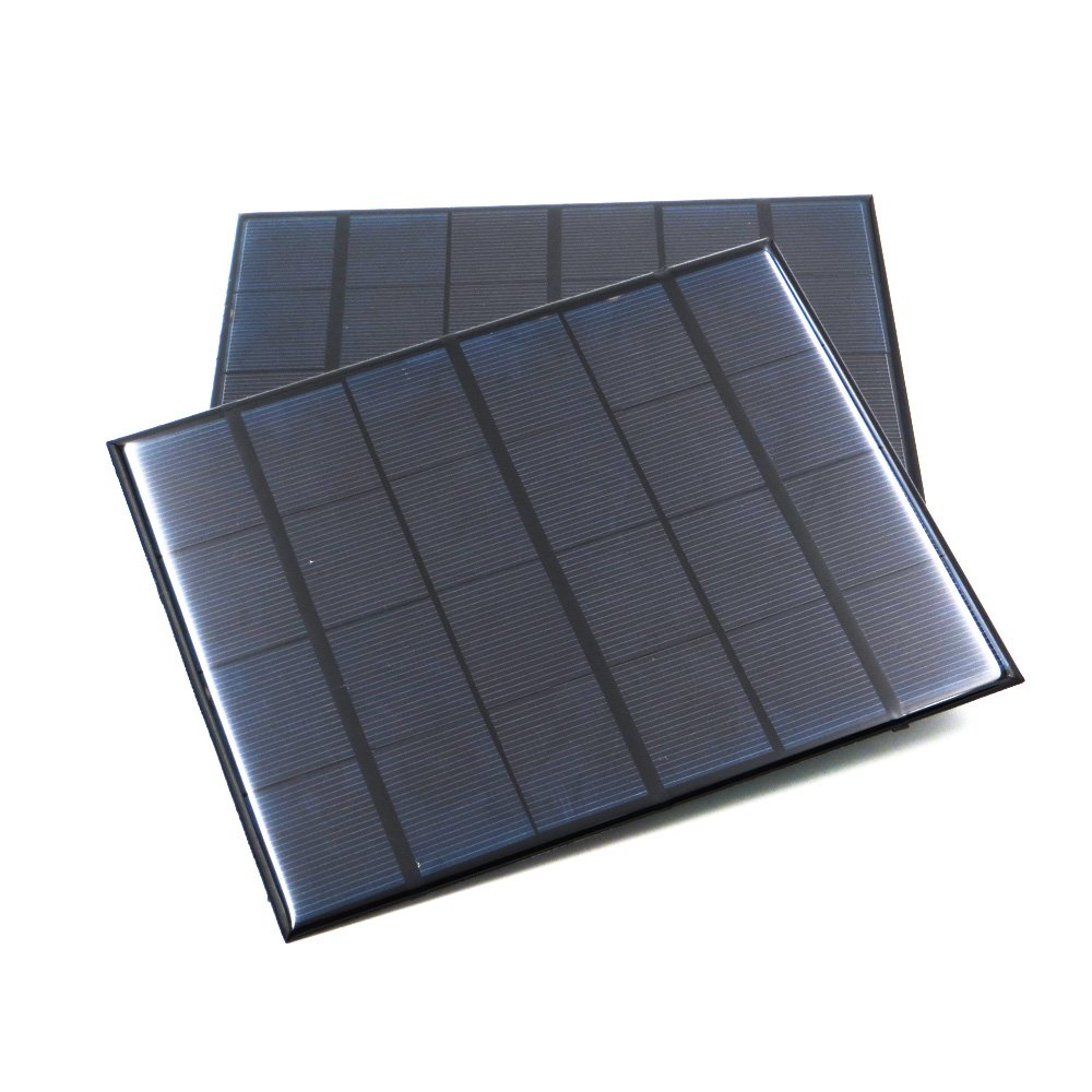 Solar Panel 6V Mini Solar System DIY For Battery Cell Phone Chargers Portable 0.6W 1W 1.1W 2W 3W 3.5W 4.5W Solar Cell