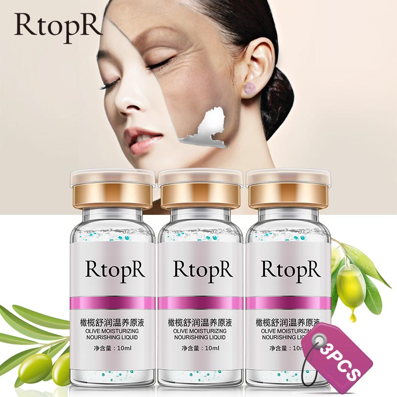 3PCS Olive Deep Repair Anti-aging Serum Face Care Acne Treatment Moisturizing Skin Care Whitening Essence Beauty Anti-wrinkle(China)