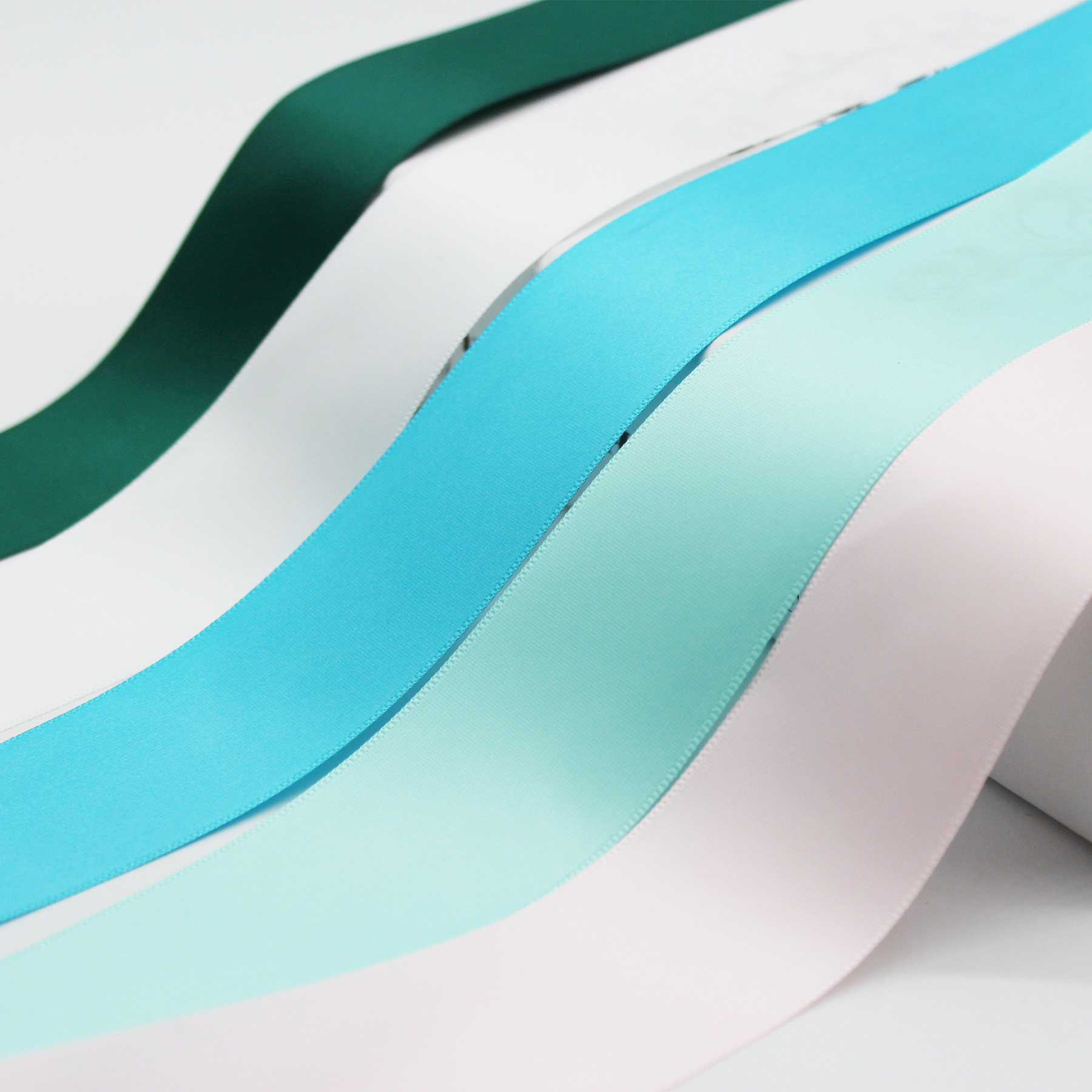16MM 19MM 38MM Single Face Satin Ribbon 100% Polyester Webbing For DIY Present Box Wrapped Decor Accessories 5/8