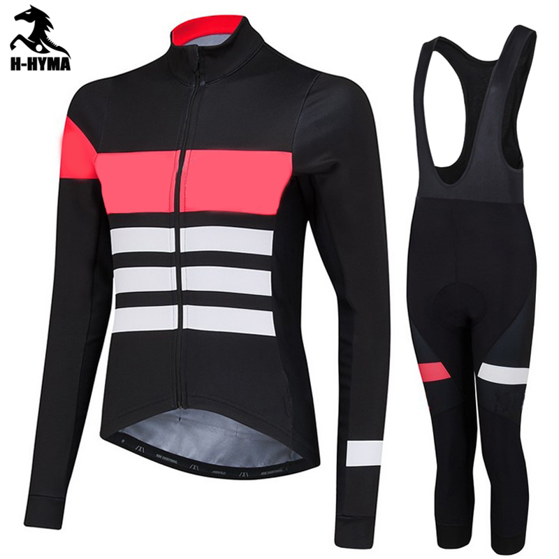 ФОТО High quality 2017 Woman cycling jerseys long sleeve cycling clothing Autumn Bicycle Sportswear Free shipping