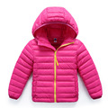 2017 Brand New Children Down Boys' Jacket Children Fashion Down Coat Children Down & Parkas Candy Color Warm Down Jacket YY2070