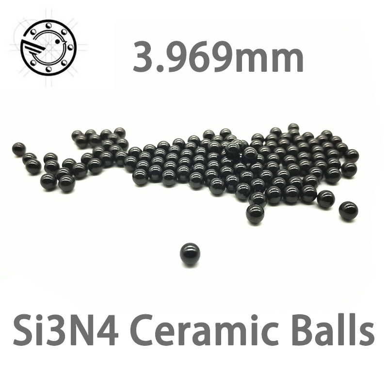 5/32 3.969mm SI3N4 ceramic balls Silicon Nitride balls for bearing pump linear slider valvs balls bike G5 3.969mm 17 46250 mm 22 32 si3n4 ceramic balls silicon nitride balls used in bearing pump linear slider valvs balls