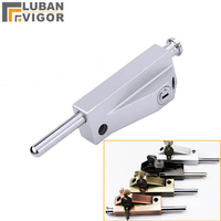Surface mounted bolt lock with key,For Heavy /Rotating door bolt,strong and sturdy,Ground latch,Door hardware/bolt/latch