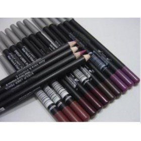 Free Shipping 360 Piece Beautiful colors LIP Pencils Brown red pink Rose Red