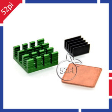 1 Set of 3PCS Aluminum Copper Heat Sinks Cooling Sinks for font b Raspberry b font