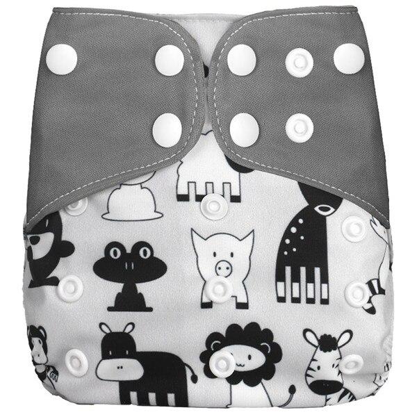 [Simfamily] Новые детские тканевые подгузники, регулируемые подгузники для мальчиков и девочек, Моющиеся Водонепроницаемые Многоразовые подгузники для новорожденных - Цвет: NO29