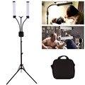 GSKAIWEN 40 Вт Светодиодный светильник для фотосъемки с регулируемой яркостью 3000-6000K косметический светильник для макияжа лампа для татуировки ...