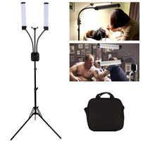 GSKAIWEN 40W LED Photographic Light Dimmable 3000-6000K Makeup Beauty Light Eyebrow Tattoo Lamp Studio Video Light with Tripod