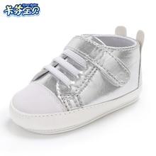 Kieta guma apatiniai kūdikių batai kūdikiams pirmieji vaikštynės mados PU odos kūdikių berniukų mergaičių sportiniai bateliai Vaikų mažylis naujagimių kūdikių bateliai